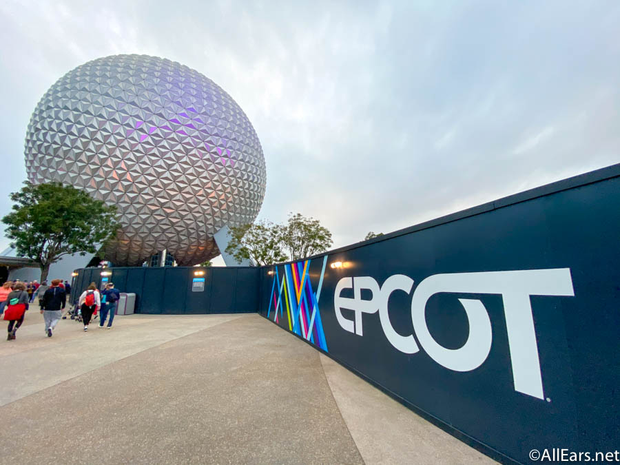 Epcot, Once a Sketch On a Napkin, is in the Midst of a Long-Overdue Makeover - AllEars.Net