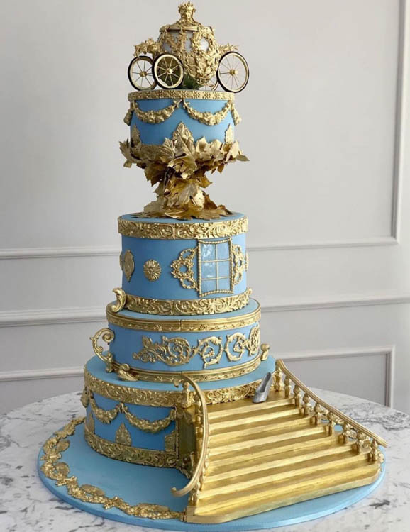 We Re Saying I Do To These Extreme Disney Wedding Cakes Allears Net