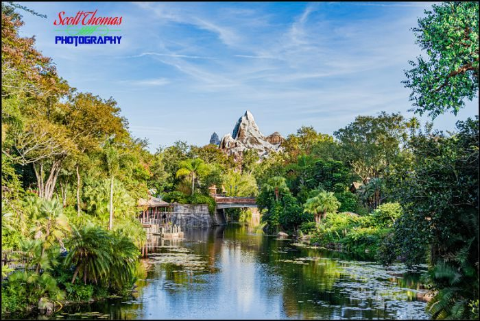 Expedition EVEREST Landscape