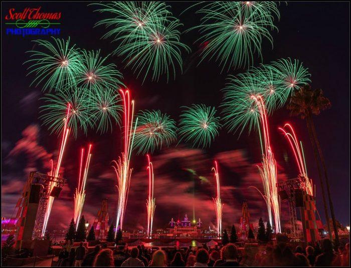 Epcot Forever Fireworks 3