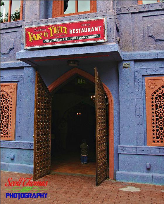 Yak & Yeti Restaurant Entrance