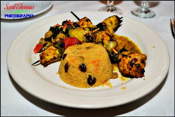 Marrakesh Chicken Kebabs at Restaurant Marrakesh