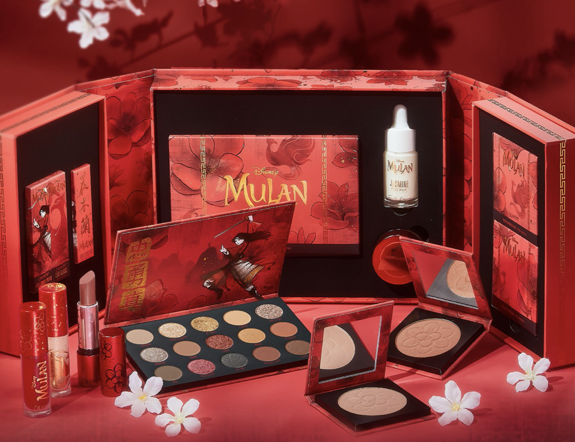 Colourpop Releases New Makeup Collection Based On Disney S Mulan Allears Net