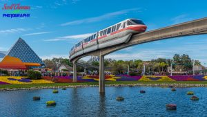 Flower and Garden Festival Monorail 2020