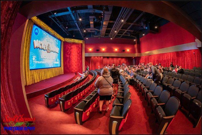 Mickey Shorts Theatre Fisheye 2A