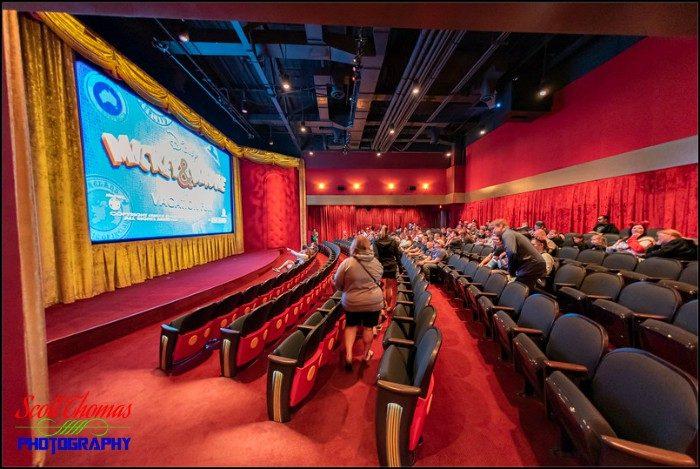 Mickey Shorts Theatre Fisheye 2B