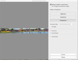 Adobe Lightroom Panorama Panel