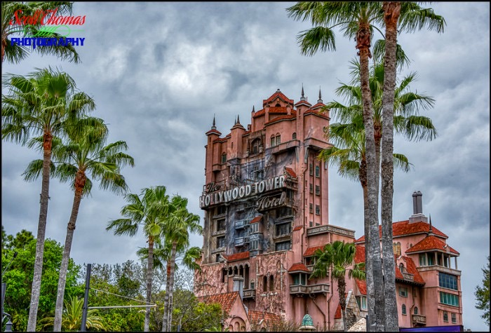 Tower of Terror Clouds HDR
