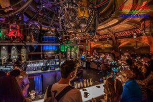 Galaxy's Edge Cantina Bar
