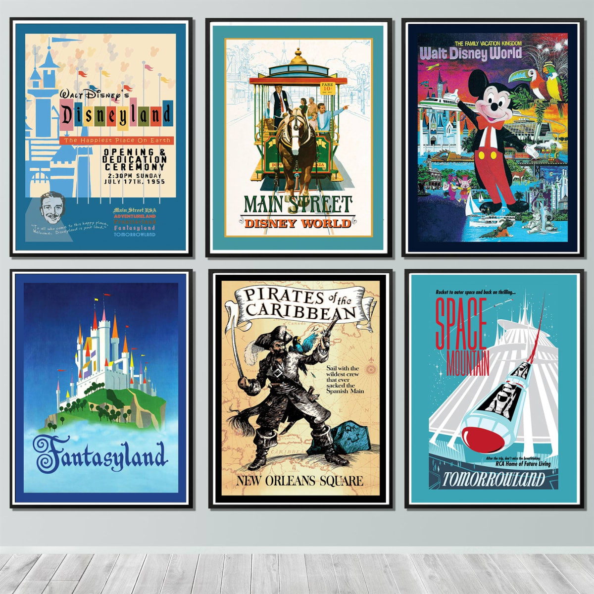 We Just Found The Coolest Vintage Disney Prints And They Start Under 5 Allears Net