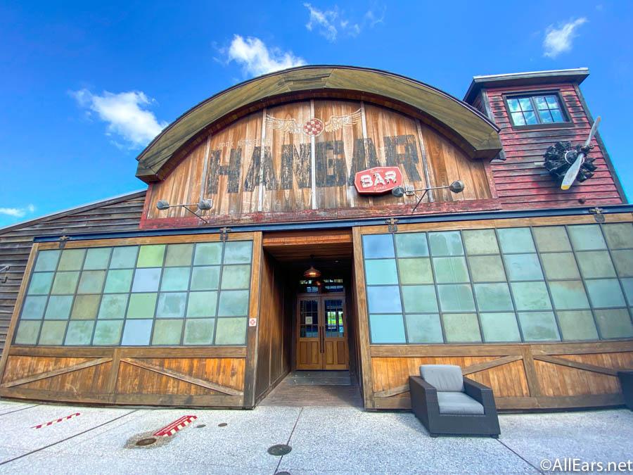 Disney Springs Closure Hangar Bar General