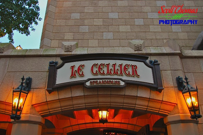 Le Cellier Entrance Sign