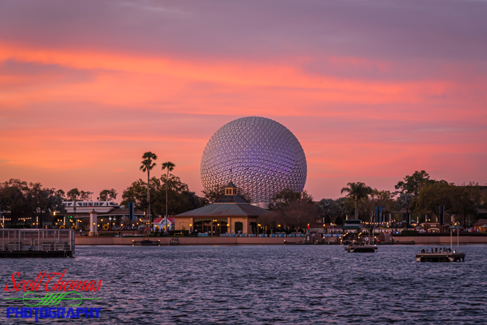 Spaceship Earth Before Processing