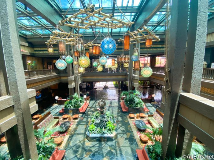 Lobby Polynesian Resort General Reopening 2020 2