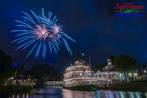 Liberty Belle Blue Fireworks