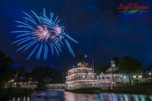 Liberty Belle Blue Fireworks