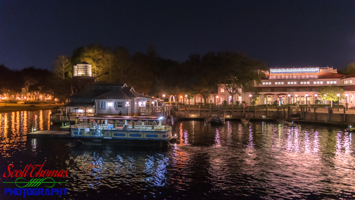 Port Orleans-Riverside Resort at Night