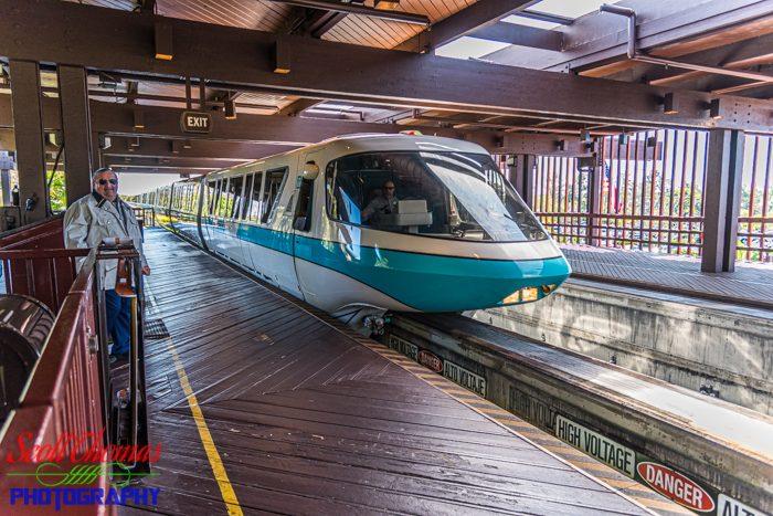 Polynesian Village Monorail Station