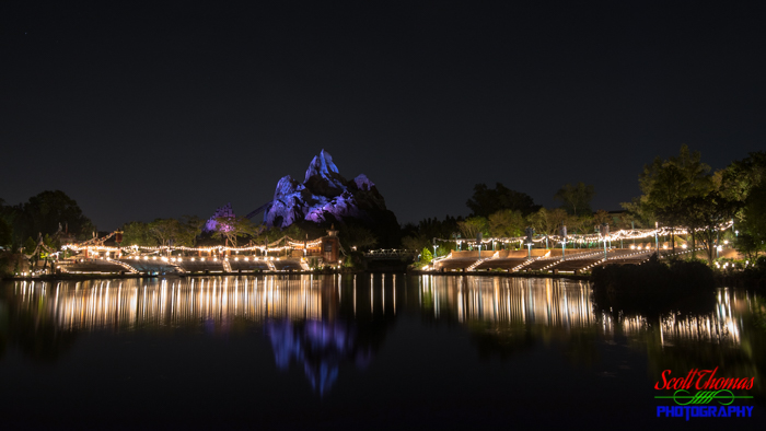 Expedition Everest Calm Night
