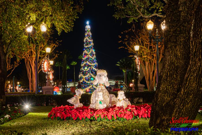 Disney's Hollywood Studios Christmas Poodles