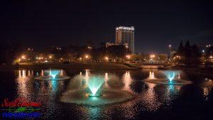 Disney Springs Buena Vista Palace at Night