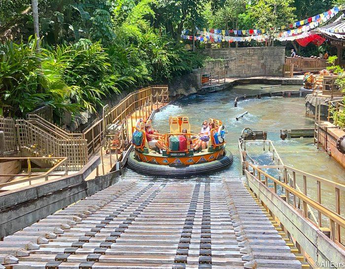 2020 closures wdw animal kingdom reopening kali river rapids 3