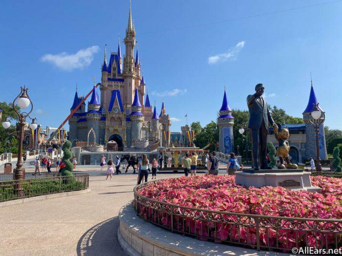 Cinderella Castle Magic Kingdom Cast Member Preview Disney World 2