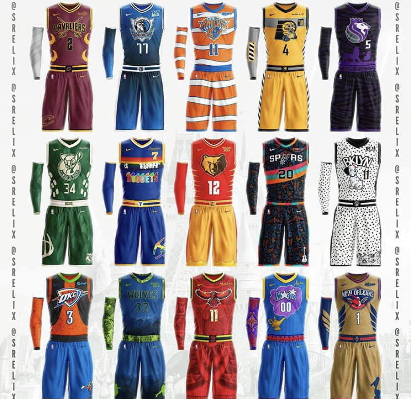 You Need To See These Disney Inspired Nba Team Uniforms This Artist Created Allears Net