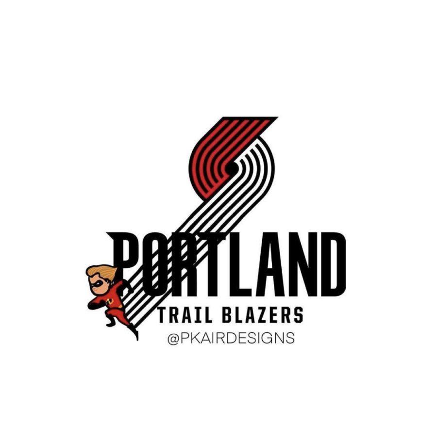 Espn Nba Logos Portland Trail Blazers Dash Allears Net