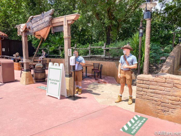 Relaxation Station Adventureland Magic Kingdom Cast Member Preview Disney World 1
