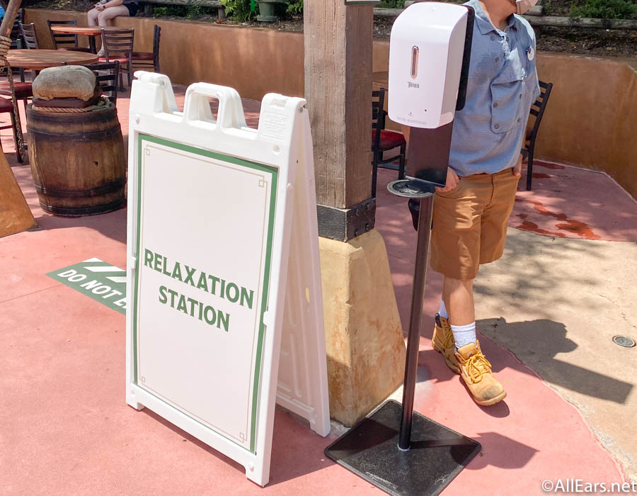 Check Out the Mask-Free Relaxation Stations at Disney's Magic Kingdom! - AllEars.Net
