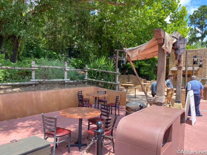 Relaxation Station Adventureland Magic Kingdom Cast Member Preview Disney World 5 1