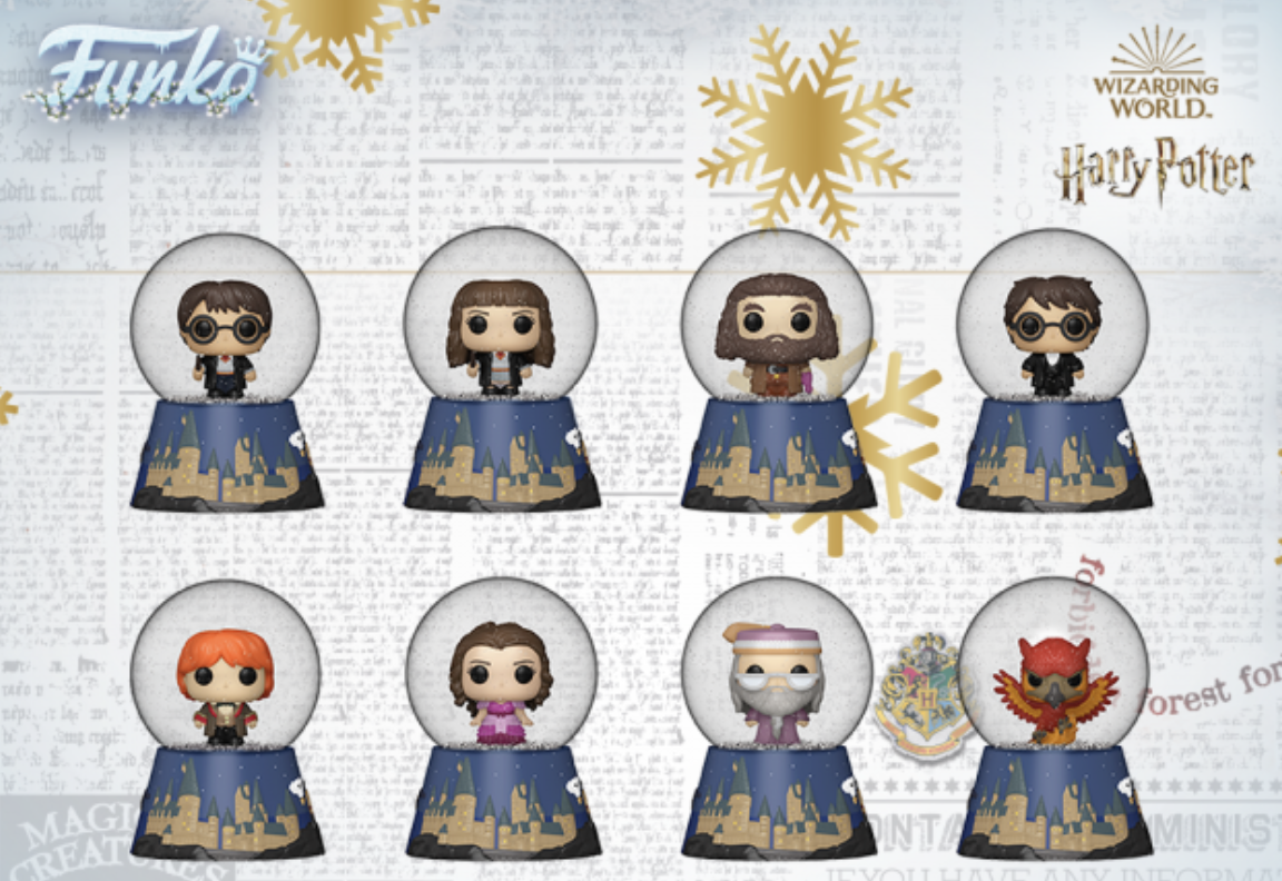 Add Some Holiday Magic to Your Christmas with the New Harry Potter Snow Globes! - AllEars.Net