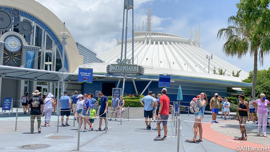 Space Mountain Is Temporarily Closed in Disney World - AllEars.Net