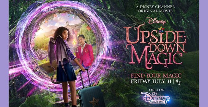 Disney Channel Original Movie Review Upside Down Magic Allears Net