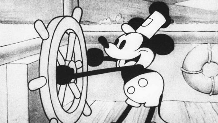 Disney SteamboatWillie MickeyMouseCartoon