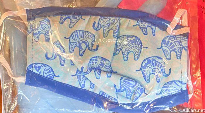 Elephant Face Mask Yak and Yeti Animal Kingdom