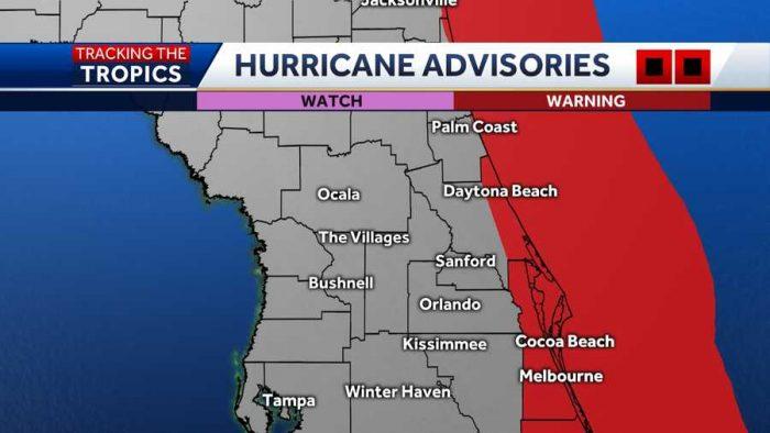 Hurricane Advisories Wesh 2 Hurricane Isaias