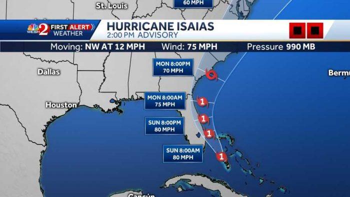 Hurricane Isaias August 1 WESH2 News