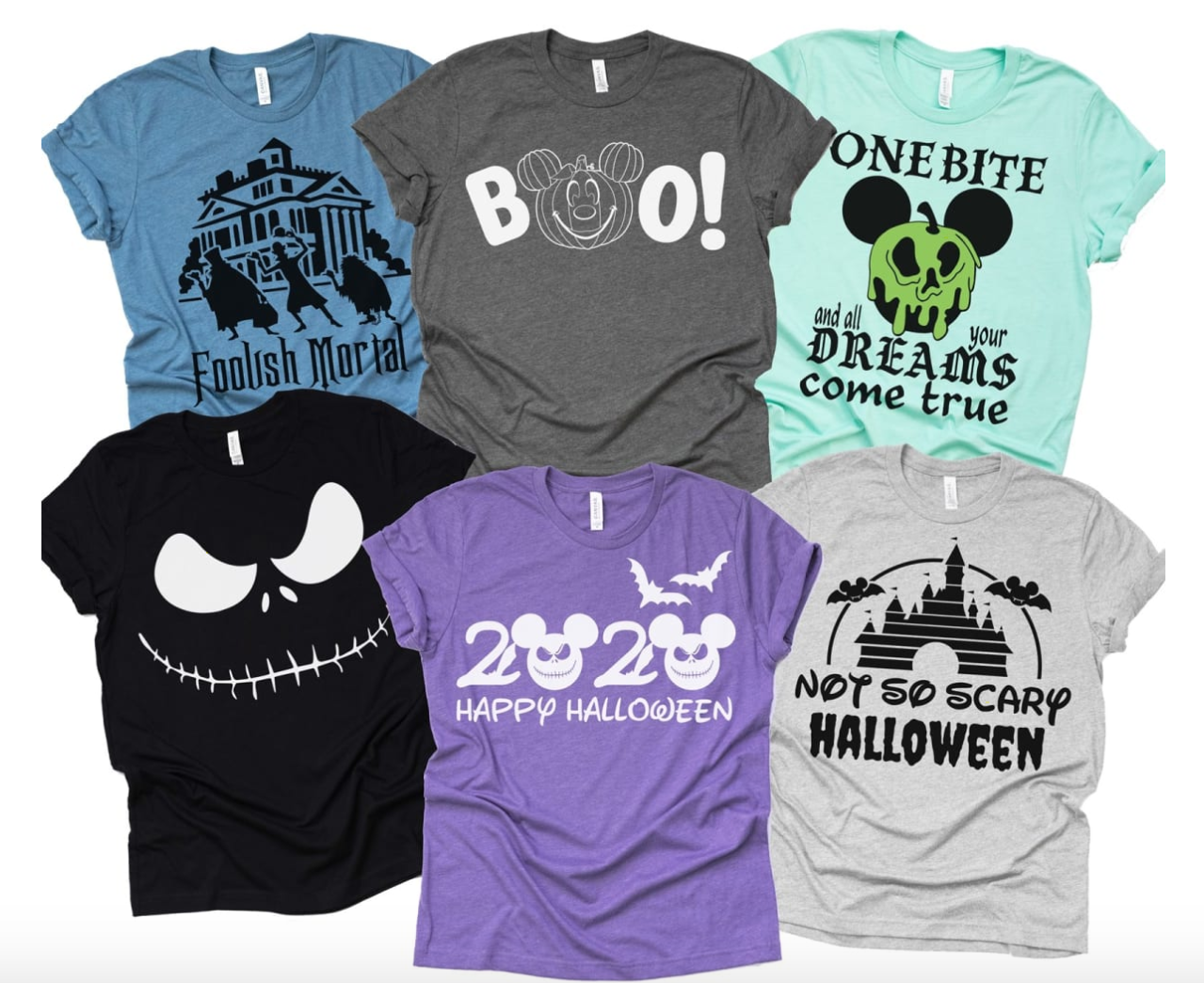 2020 Disney Halloween Shirts Pics These Halloween Shirts Inspired by the Disney Parks Will Give Your