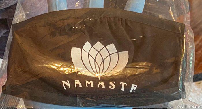 Namaste Face Mask Yak and Yeti Animal Kingdom