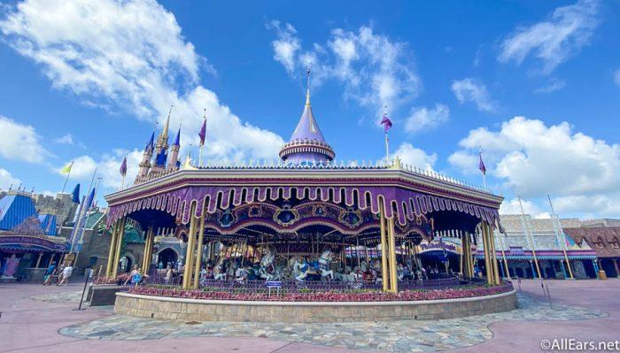 Prince Charming Regal Carousel Magic Kingdom