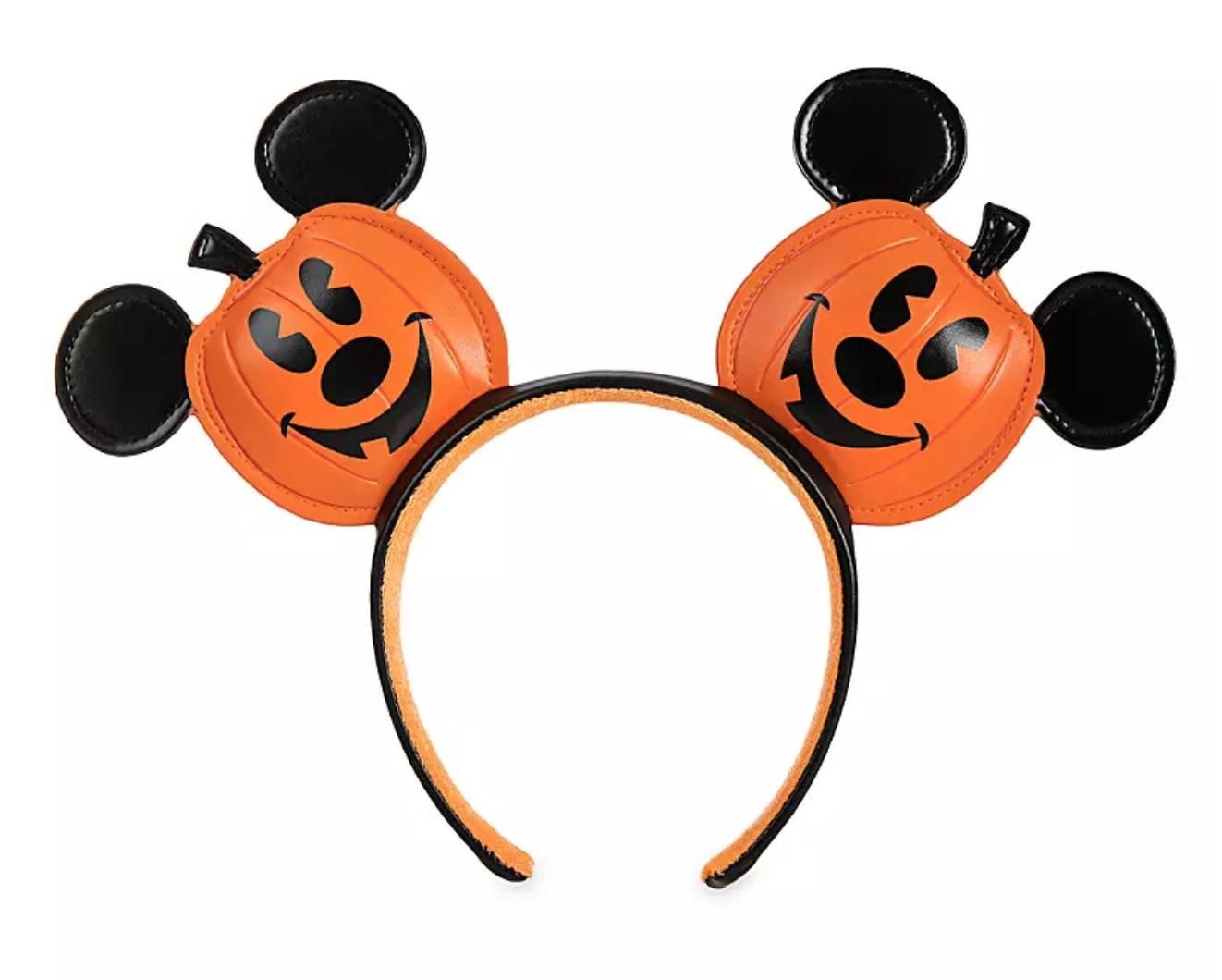 Disney Halloween 2020 Ears Pretty in PUMPKIN?! Disney's New Halloween Ears Might Be the