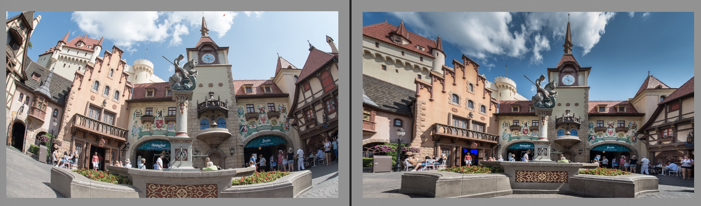 Germany Before and After Photo Editing