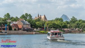 Friendship Boat Cruising World Showcase Lagoon
