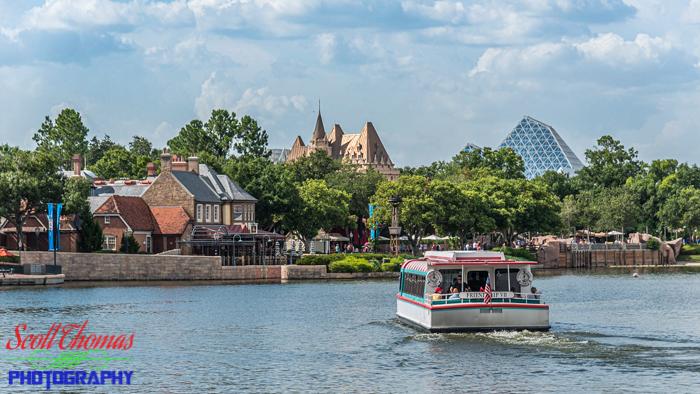 Edited Version Friendship Boat on World Showcase Lagoon