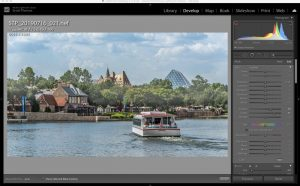 Lightroom Brush Mask