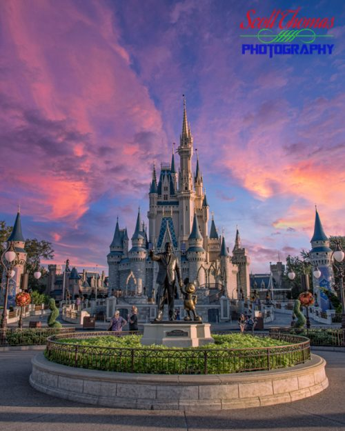 Cinderella Castle Replacement Sky
