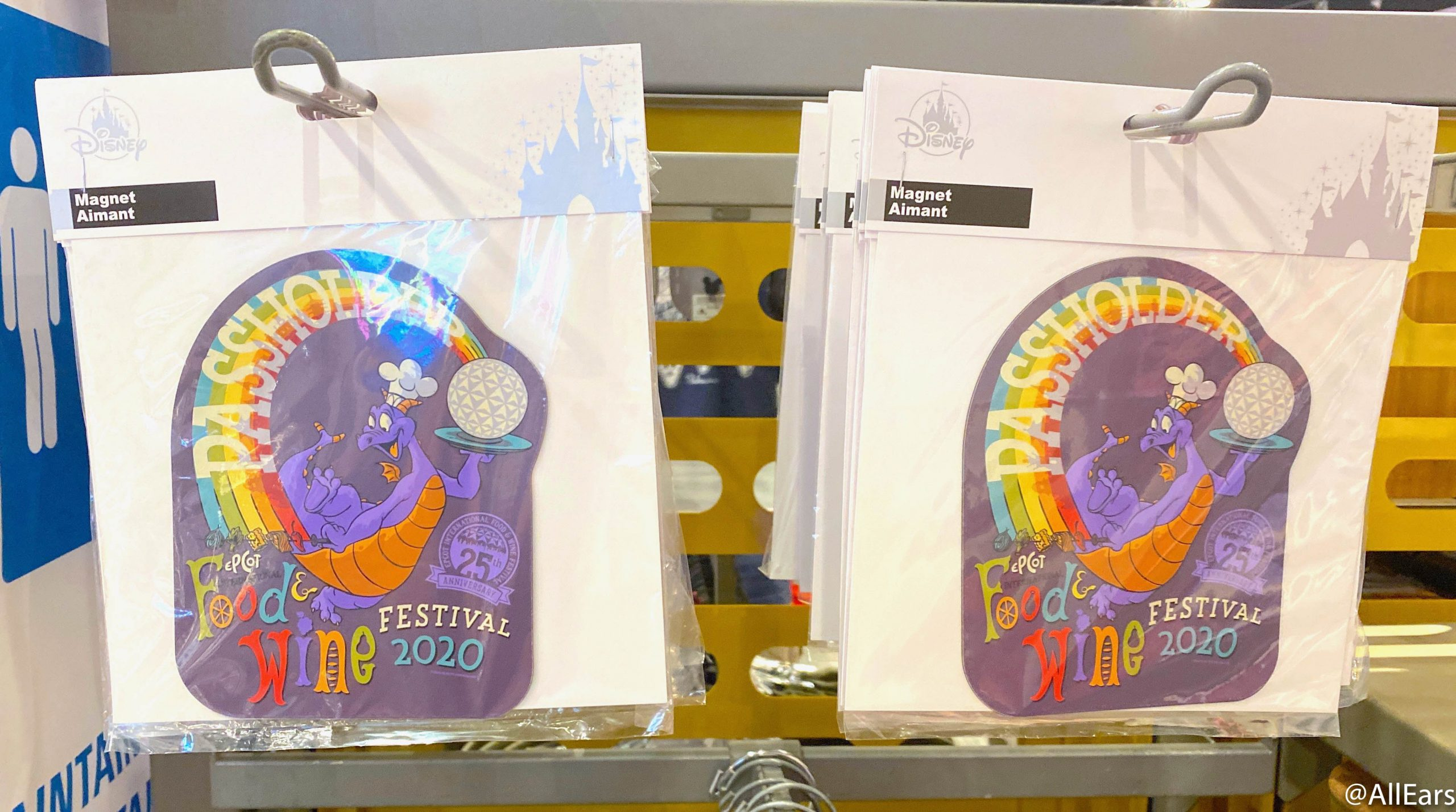 Figment Used His Colorful Imagination To Create The Newest Annual Passholder Magnet For The Epcot Food And Wine Festival Allears Net