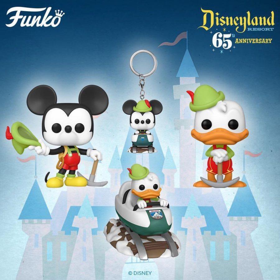 Mickey in Lederhosen Disney 65th Disney Funko Pop